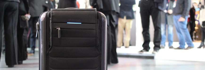 La valise connectée bluesmart