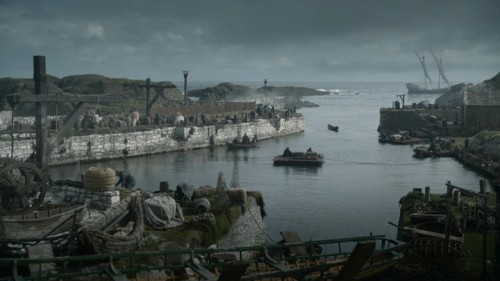 Ballinton Harbour dans Game of Thrones