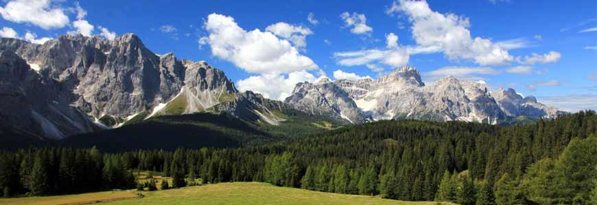 Les dolomites en Italie