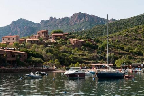 Le port de plaisance de Girolata.