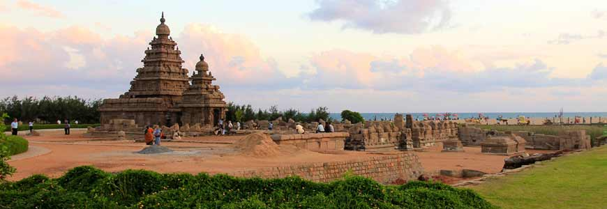 Shore Temple en Inde