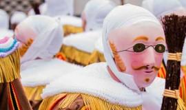 Gille au carnaval de Binche